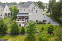 Exterior back view of the house - 42050 MIDDLEHAM CT, ASHBURN