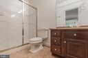Lower Level Full Bath - 5229 GRIFFITH RD, GAITHERSBURG