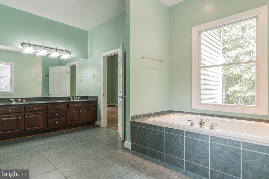 Main Level Master Bathroom - 5229 GRIFFITH RD, GAITHERSBURG