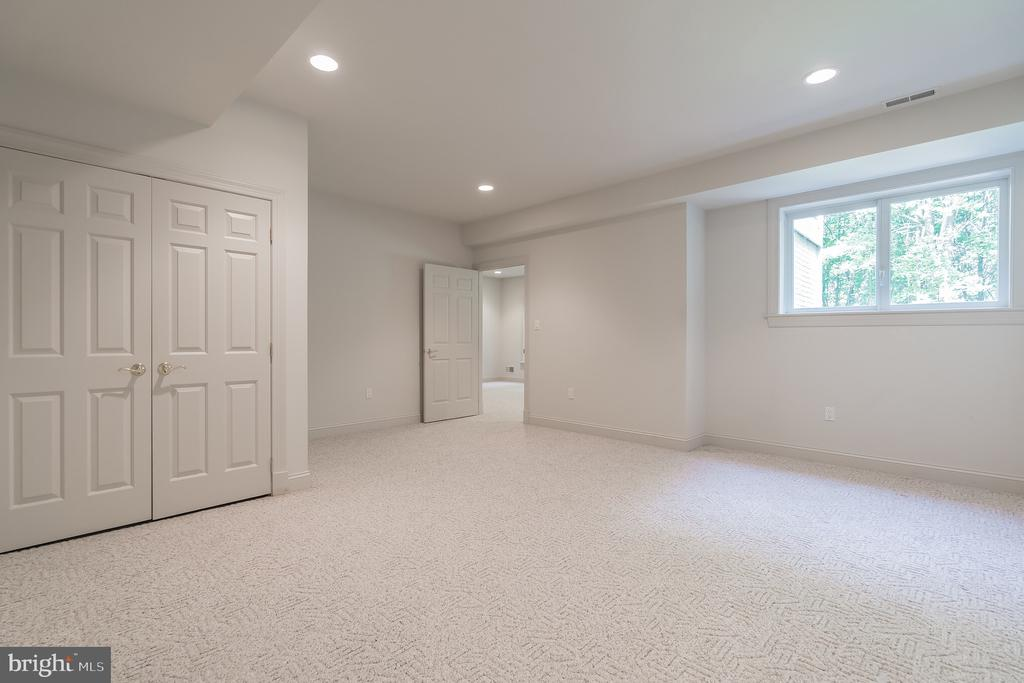 Lower Level Guest Room/Den - 5229 GRIFFITH RD, GAITHERSBURG