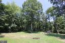Backyard view from lower deck - 5520 BOOTJACK DR, FREDERICK