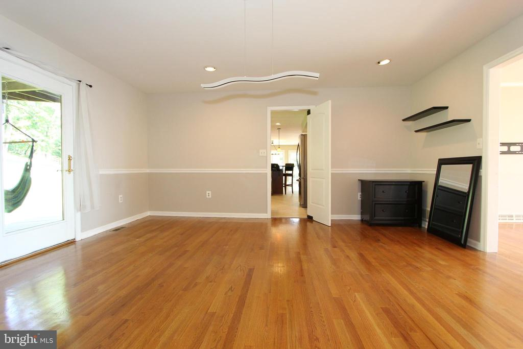 Dining room, view 2 - 5520 BOOTJACK DR, FREDERICK