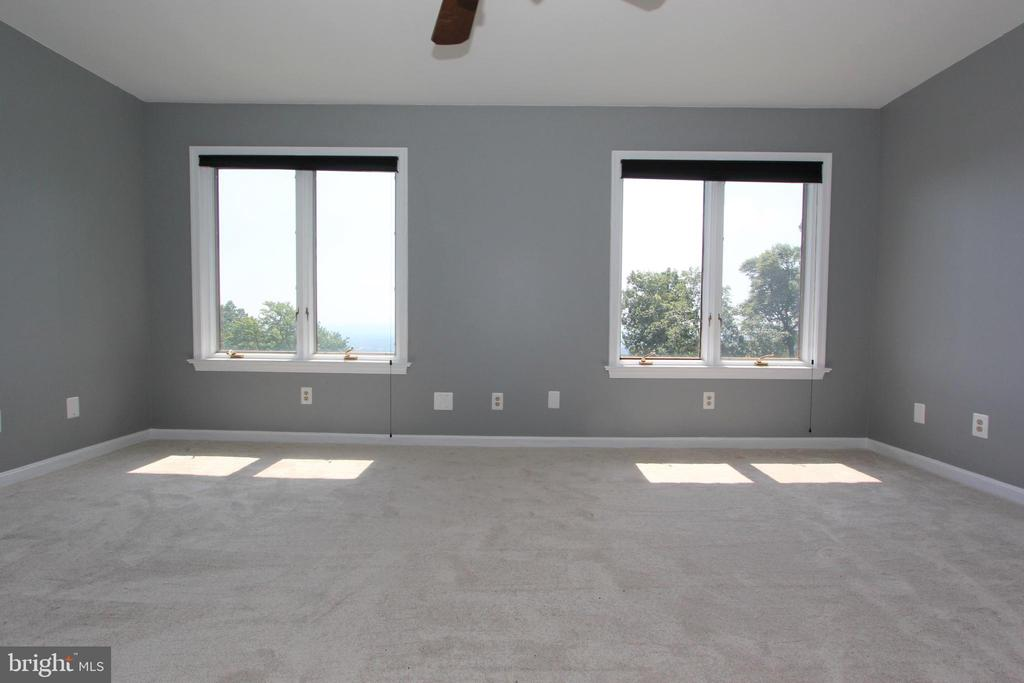 Second master bedroom with spectacular views - 5520 BOOTJACK DR, FREDERICK