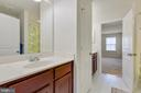 Jack and Jill Bathroom view - 4512 POTOMAC HIGHLANDS CIR, TRIANGLE