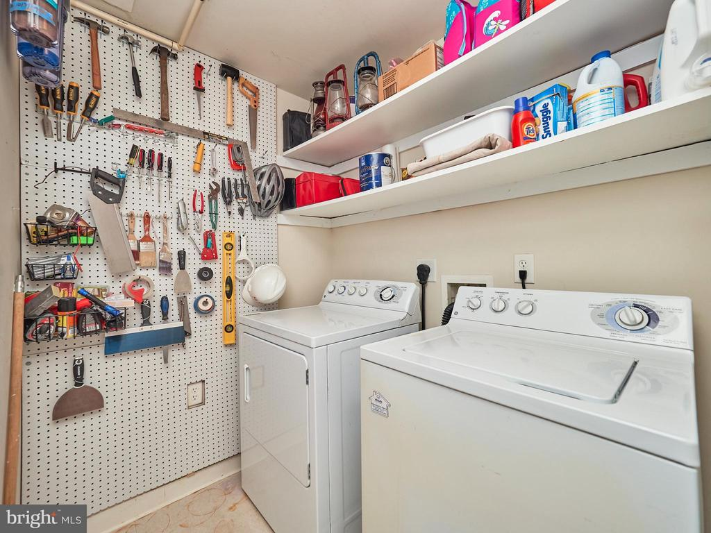 Laundry Room with storage - 3625 10TH ST N #408, ARLINGTON