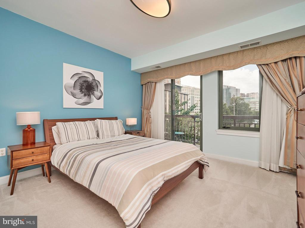 Master Suite w/ balcony access - 3625 10TH ST N #408, ARLINGTON