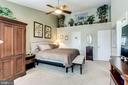 Master Bed with Walk in Closet - 20938 SANDSTONE SQ, STERLING