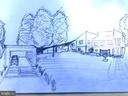 Artist rendering of proposed solar carport. - 13814 ALDERTON RD, SILVER SPRING