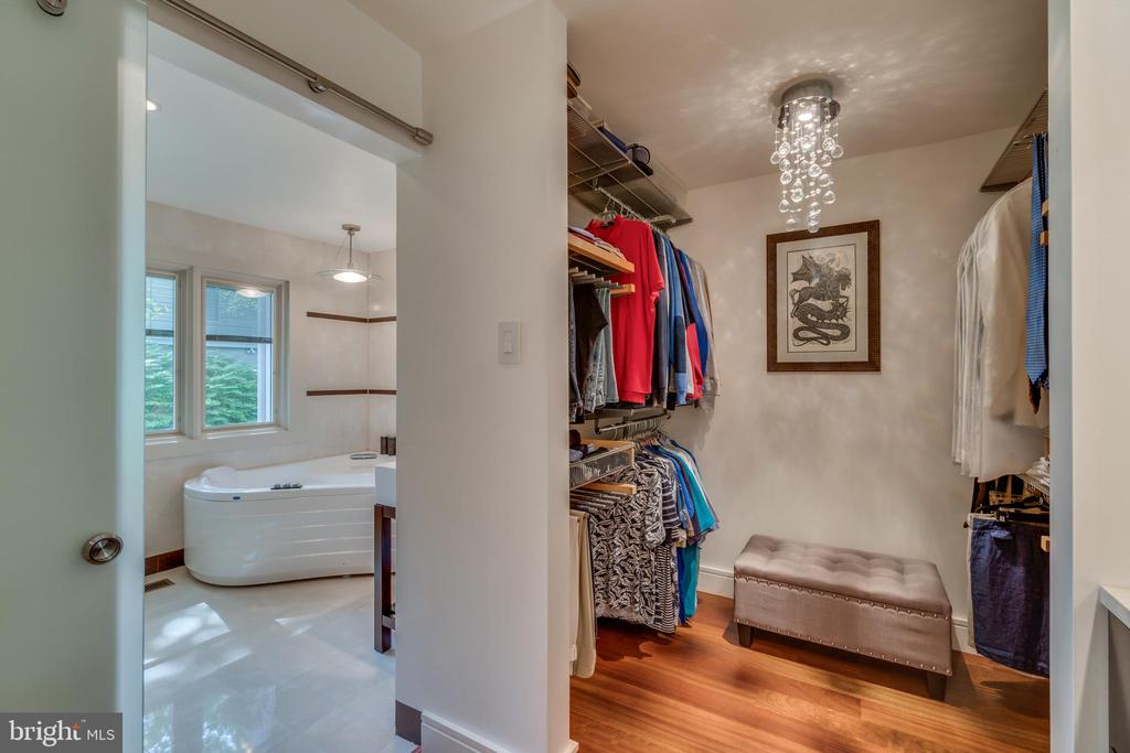 One of four large Owner's Suite closets - 13814 ALDERTON RD, SILVER SPRING
