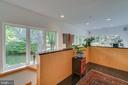 Looking down to foyer - 13814 ALDERTON RD, SILVER SPRING