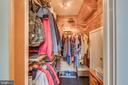 Functional cedar coat closet with automated lights - 13814 ALDERTON RD, SILVER SPRING
