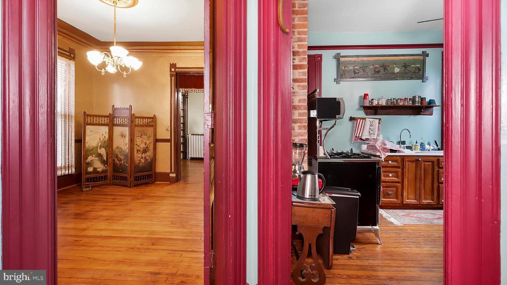 Butler to dining & kitchen - 6404 WASHINGTON BLVD, ARLINGTON
