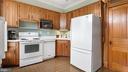 Upper level kitchen - 6404 WASHINGTON BLVD, ARLINGTON