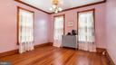 Bedroom on upper level - 6404 WASHINGTON BLVD, ARLINGTON