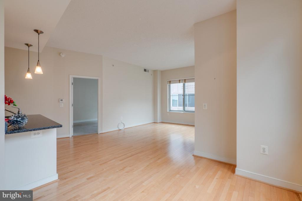 Living Room/ Dining Room area - 820 N POLLARD ST #603, ARLINGTON