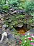 PORCH PROVIDES A GREAT VIEW OF THE WATERFALL POND - 9500 WOODSTOCK CT, SILVER SPRING