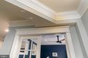 Extensive mouldings include headers to all doors - 1845 POTOMAC GREENS DR, ALEXANDRIA