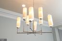 All new designer high-end light fixtures - 1845 POTOMAC GREENS DR, ALEXANDRIA