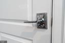 New Schlage Polished Chrome Latitude hardware - 1845 POTOMAC GREENS DR, ALEXANDRIA
