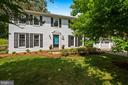 Stately Colonial w/ a Pop of Robin's Egg Blue! - 9522 BACCARAT DR, FAIRFAX