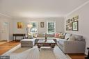 Living Room - Spacious - Room Receives Great Sun! - 9522 BACCARAT DR, FAIRFAX