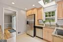 Kitchen  - Sun-drenched - Skylight! - 9522 BACCARAT DR, FAIRFAX