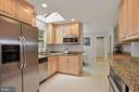 Kitchen - Stainless Steel Apps & Renovated in 2017 - 9522 BACCARAT DR, FAIRFAX