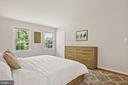 Master Bedroom Features 3 Closets! - 9522 BACCARAT DR, FAIRFAX