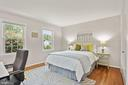 Bedroom #2 - Hardwood Floors - Generous Closets! - 9522 BACCARAT DR, FAIRFAX