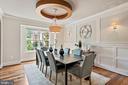 Formal Dining Room - 4389 OLD DOMINION DR, ARLINGTON