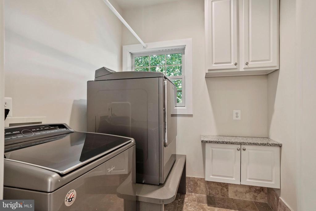 Bedroom-Level Laundry Room - 4389 OLD DOMINION DR, ARLINGTON