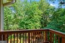 Quiet Private Balcony off of Master Bedroom - 4389 OLD DOMINION DR, ARLINGTON