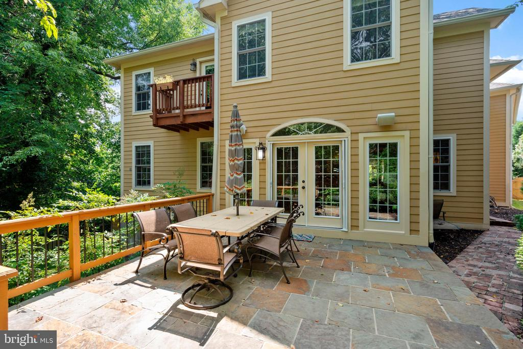 Patio View of Rear of Home - 4389 OLD DOMINION DR, ARLINGTON