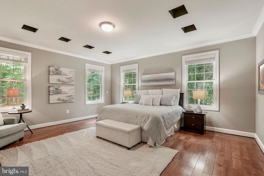 Main Level Master Bedroom - 4389 OLD DOMINION DR, ARLINGTON