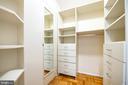 Walk-in closet - 2720 WISCONSIN AVE NW #206, WASHINGTON