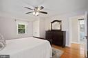 primary bedroom accommodates large furniture - 3616 ARLINGTON BLVD, ARLINGTON