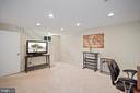 with a full bath room doubles as guest space - 3616 ARLINGTON BLVD, ARLINGTON