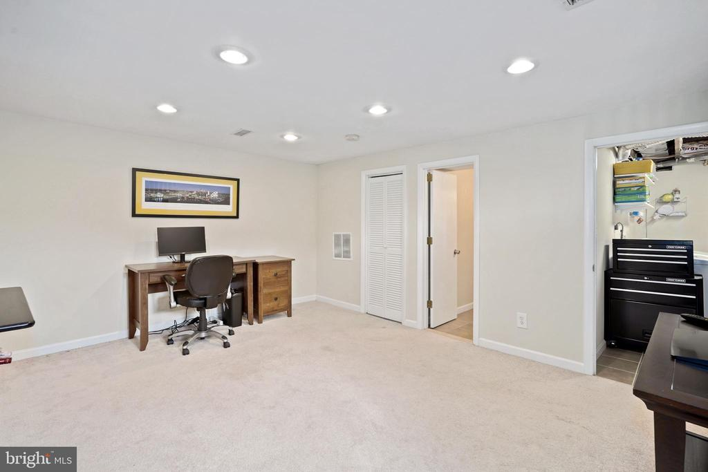 rec room for media, play, office, exercise, Zoom - 3616 ARLINGTON BLVD, ARLINGTON
