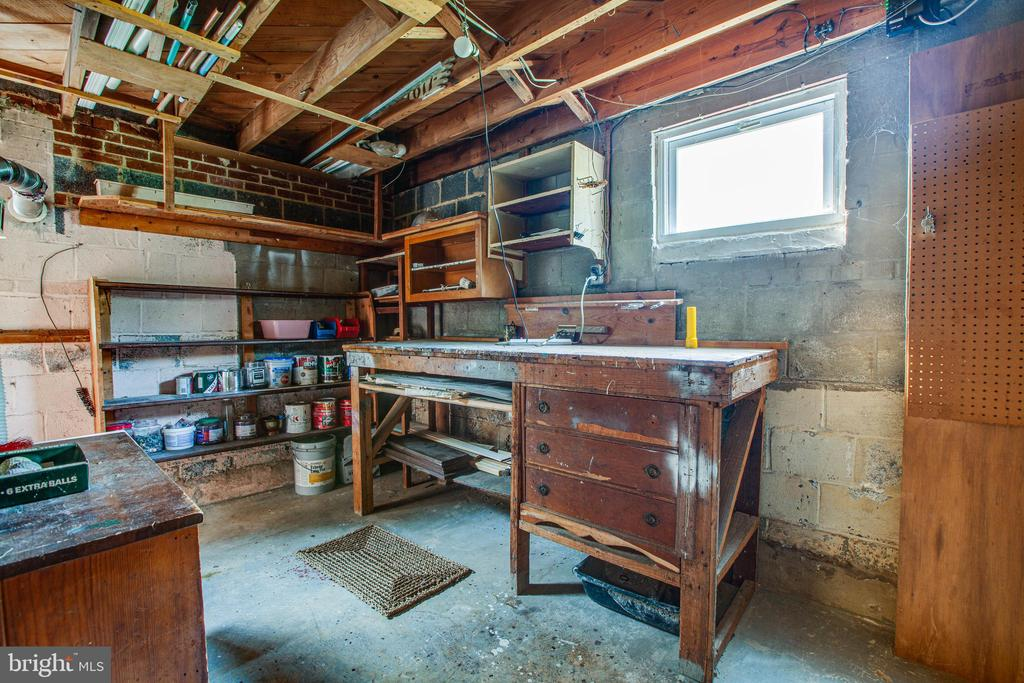 Utility and Workshop area - 6920 RUSKIN ST, SPRINGFIELD