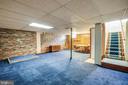 Recreation Room downstairs - 6920 RUSKIN ST, SPRINGFIELD