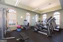 Great to have a full gym in the community - 1845 POTOMAC GREENS DR, ALEXANDRIA
