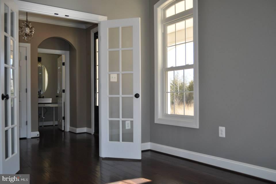 Office- Option- Double French Glass Doors - 11950 HONEY GROVE TRL, NOKESVILLE