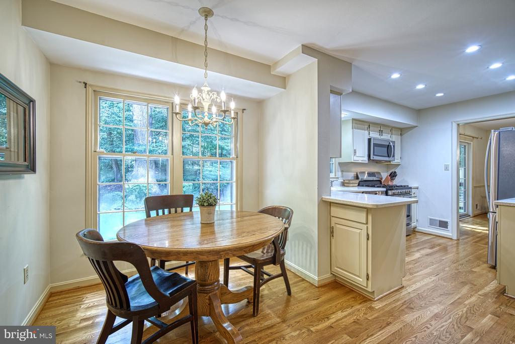 Perfect spot for morning coffee - 8415 FROST WAY, ANNANDALE