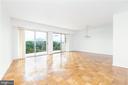 Living Room/Dining Room View - Unstaged - 9039 SLIGO CREEK PKWY #1610, SILVER SPRING