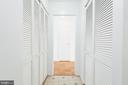 Kitchen with 2 Closets, Pantry & Storage - 9039 SLIGO CREEK PKWY #1610, SILVER SPRING