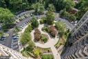 Garden Hardscape/Fountain View from 16th Floor - 9039 SLIGO CREEK PKWY #1610, SILVER SPRING