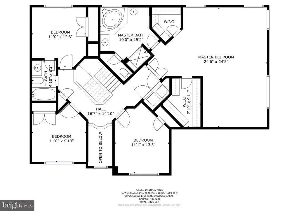 Floor Plan - 11007 COUNTRY CLUB RD, NEW MARKET
