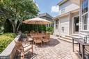 Custom Patio | Extensive Hardscape - 11007 COUNTRY CLUB RD, NEW MARKET