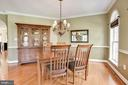 Dining Room - 11007 COUNTRY CLUB RD, NEW MARKET