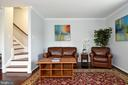 NEW WOOD STAIR TO BEDROOMS LEVEL - 784 N VERMONT ST, ARLINGTON